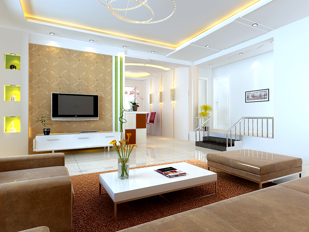 Salon dekorasyonu mimari dekorasyon tadilat for Model living room design
